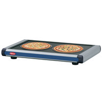 Hatco GR2S-36 36 inch Glo-Ray Navy Blue Designer Portable Heated Shelf with Black Caps - 550W
