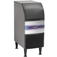Scotsman CU0715MA-1A 15 inch Air Cooled Undercounter Medium Cube Ice Machine - 80 lb.