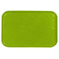 Carlisle 2115FG009 Customizable 14 3/4 inch x 20 7/8 inch (37,5 cm x 53 cm) Glasteel Metric Lime Fiberglass Tray - 12/Pack