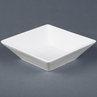 Cal-Mil PP251 Medium Square Porcelain Bowl - 8 inch x 8 inch x 2 inch