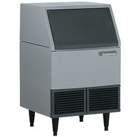 Scotsman AFE424A-1A 24 1/4 inch Air Cooled Undercounter Flake Ice Machine - 395 lb.
