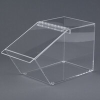 Cal-Mil 999 Classic Stackable Acrylic Food Bin - 7 1/2 inch x 14 inch x 9 inch