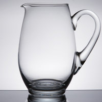 Libbey 1783127 Mario 58 oz. Glass Pitcher - 6/Case