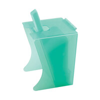 Cal Mil 1032-6 6 oz. Econo Freestanding Polyethylene Scoop Holder with Scoop and Drip Tray