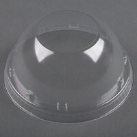 Dart Solo Conex 20LCDH Clear Dome Lid with Hole 1000 / Case