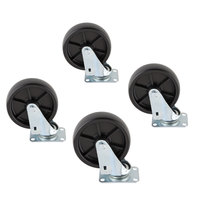 Scotsman KBC1P casters for Ice Bins - 4 / Set