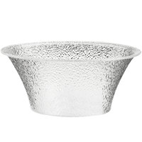 Cal-Mil 403-10-34 10 1/4 inch Clear Acrylic Pebble Bell Bowl