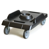 Carlisle IT41003 Dolly for Black End Loader IT Series Food Pan Carriers with Casters