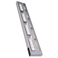 Hatco UGAHL-66 Ultra-Glo 66 inch High Watt Ceramic Infrared Strip Warmer with Lights and Remote Controls - 3000W