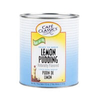 Cafe Classics Trans Fat Free Lemon Pudding #10 Can - 6/Case
