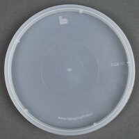 Tamper Resistant Translucent Lid for Round Deli Containers - 50/Pack