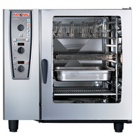 Rational CombiMaster Plus Model 102 A129206.19D202 Combi Oven with Ten Full Size Sheet Pan Capacity - Liquid Propane