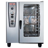 Rational CombiMaster Plus Model 101 A119206.27D202 Combi Oven with Ten Half Size Sheet Pan Capacity - Liquid Propane