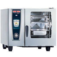 Rational SelfCookingCenter 5 Senses Model 61 A618106.12 Combi Oven with Six Half Size Sheet Pan Capacity - 208/240V 3 Phase