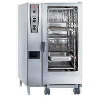 Rational CombiMaster Plus Model 202 A229106.12.202 Combi Oven with Twenty Full Size Sheet Pan Capacity - 208/240V 3 Phase