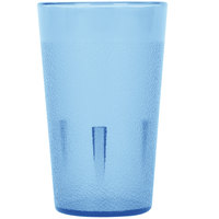 5 oz. Blue Stackable Pebbled Plastic Tumbler - 12/Pack