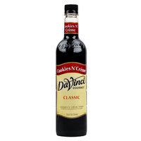 DaVinci Gourmet 750 mL Cookies N' Creme Classic Coffee Flavoring Syrup
