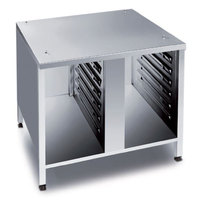 Rational 60.30.342 US III 42 inch x 36 3/4 inch Open Front Base Cabinet for 62 Combi Ovens with UltraVent (20 Pan Capacity)