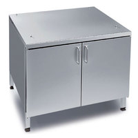 Rational 60.30.349 US IV 44 1/8 inch x 38 7/8 inch Mobile Enclosed Base Cabinet for 62 and 102 Combi Ovens (14 Pan Capacity)
