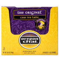 Oregon Chai Original Chai Dry Mix Single Serve Packets - 24 / Box, 6 Boxes / Case