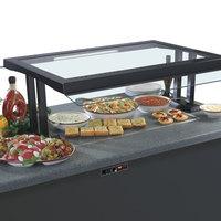 Hatco GRSSB-2418 24 inch x 18 inch Glo-Ray Built-In Bermuda Sand Heated Stone Warmer Shelf - 120V, 635W