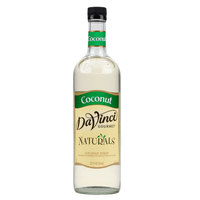 DaVinci Gourmet 700 mL Coconut All Natural Flavoring Syrup