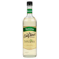DaVinci Gourmet 700 mL Banana All Natural Flavoring / Fruit Syrup
