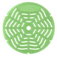 Lavex Janitorital Green Apple Scent Deodorized Gel Urinal Screen