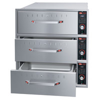 Hatco HDW-3B Built-In Three Drawer Warmer - 1350W
