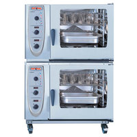 Rational 60.71.930 Stacking Kit with Casters for 61 on 61 Gas Combi Duo Ovens