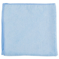 Chef Revival MF100BL 16 inch x 16 inch Blue Microfiber Towel - 6 / Pack