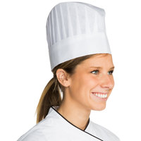 Chef Revival H055 7 inch Disposable Non-Woven Corporate Chef Hat with Vented Top - 25/Case