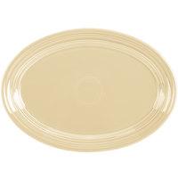 Homer Laughlin 456330 Fiesta Ivory 9 5/8 inch Small Oval Platter   - 12/Case