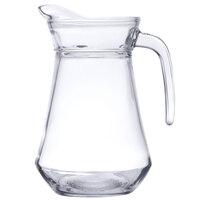Cardinal Arcoroc E7255 34 oz. Glass Pitcher with Pour Lip - 6 / Case