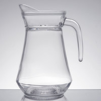 Cardinal Arcoroc E7255 34 oz. Glass Pitcher with Pour Lip - 6/Case