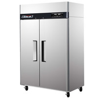 Turbo Air JRF-45 50 inch J Series Two Section Dual Temperature Reach In Refrigerator / Freezer Combo
