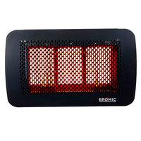 Bromic Heating BH0210001 Tungsten Smart-Heat 300 Series Natural Gas Outdoor Patio Heater - 26,000 BTU