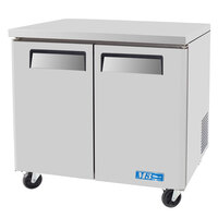 Turbo Air MUF-36 M3 Series 36 inch Undercounter Freezer - 9.2 Cu. Ft.