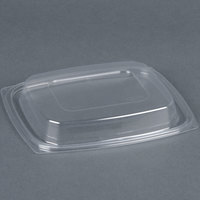 Dart Solo C32DDLR ClearPack Clear Snap-On Dome Lid for 24 and 32 oz. Plastic Containers - 63/Pack
