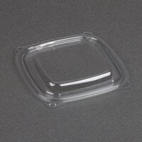 Dart Solo C816BDL PresentaBowls Pro Clear Square Lid for 8, 12, and 16 oz. Square Plastic Bowls - 63 / Pack