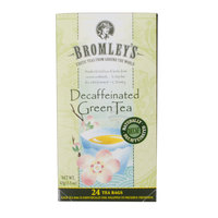 Bromley Exotic Green Decaffeinated Tea - 24/Box