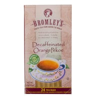 Bromley Exotic Orange Pekoe Decaffeinated Tea - 24/Box