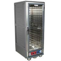 Metro C539-CLFC-4-GY C5 3 Series Low Wattage Heated Holding and Proofing Cabinet with Clear Single Door - Gray