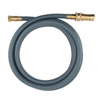 Dormont 30D-12QD Portable Outdoor Gas Connector with Quick Disconnect for Natural Gas and Liquid Propane Appliances - 1/2 inch x 12'