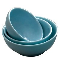 Blue Jade 8 oz. Round Melamine Bowl - 12/Case