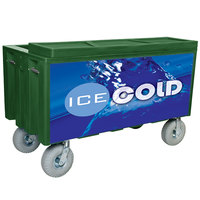 Green Extra Large Super Arctic 080 Mobile 456 Qt. Cooler with Wheels