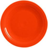 Homer Laughlin 467338 Fiesta Poppy 11 3/4 inch Chop Plate - 4/Case
