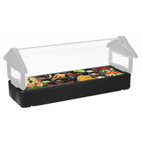 Carlisle 660203 Black Basin for 4' Six Star Portable Food Bar