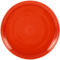 Homer Laughlin 505338 Fiesta Poppy 15 inch Baking Tray - 4/Case