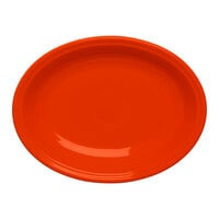 Homer Laughlin 457338 Fiesta Poppy 11 5/8 inch Platter - 12 / Case